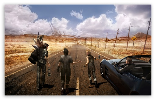 Final Fantasy Xv Wallpapers In Ultra Hd: Final Fantasy XV Video Game 4K HD Desktop Wallpaper For 4K