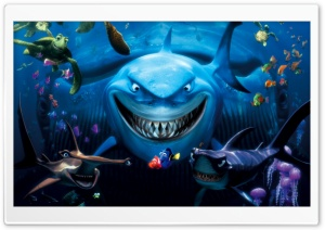 Finding Nemo HD Wide Wallpaper for Widescreen