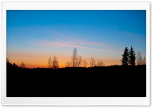 Finland Sunrise HD Wide Wallpaper for Widescreen