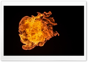 Fire 2 HD Wide Wallpaper for Widescreen