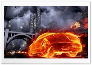 Fire Art Ultra HD Wallpaper for 4K UHD Widescreen desktop, tablet & smartphone