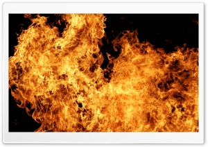 Fire Background HD Wide Wallpaper for Widescreen