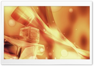 Fire Cubes HD Wide Wallpaper for Widescreen