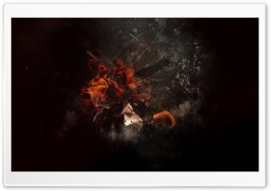 Fire Desktop HD Wide Wallpaper for Widescreen