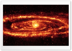Fire Galaxy HD Wide Wallpaper for Widescreen