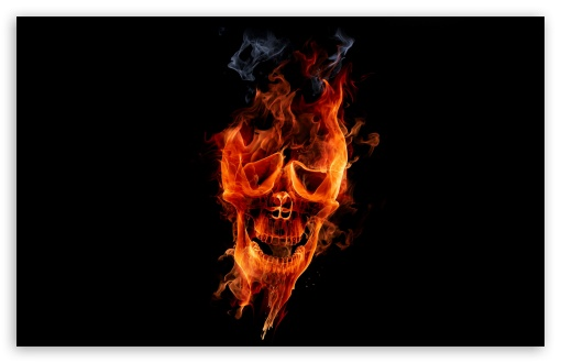 Fire Skull HD wallpaper for Standard 4:3 5:4 Fullscreen UXGA XGA SVGA QSXGA SXGA ; Wide 16:10 5:3 Widescreen WHXGA WQXGA WUXGA WXGA WGA ; HD 16:9 High Definition WQHD QWXGA 1080p 900p 720p QHD nHD ; Other 3:2 DVGA HVGA HQVGA devices ( Apple PowerBook G4 iPhone 4 3G 3GS iPod Touch ) ; Mobile VGA WVGA iPhone iPad PSP Phone - VGA QVGA Smartphone ( PocketPC GPS iPod Zune BlackBerry HTC Samsung LG Nokia Eten Asus ) WVGA WQVGA Smartphone ( HTC Samsung Sony Ericsson LG Vertu MIO ) HVGA Smartphone ( Apple iPhone iPod BlackBerry HTC Samsung Nokia ) Sony PSP Zune HD Zen ; Tablet 2 Android ;