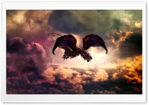 Firedragon HD Wide Wallpaper for Widescreen