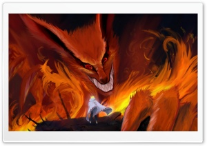 Firefox Fantasy Art HD Wide Wallpaper for Widescreen