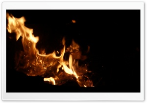 Firepit HD Wide Wallpaper for Widescreen