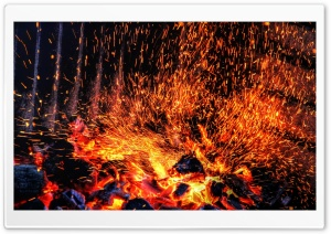Fireplace HD Wide Wallpaper for Widescreen