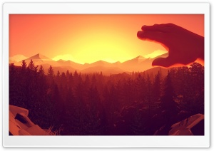Firewatch HD Wide Wallpaper for Widescreen
