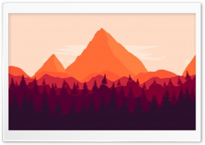 Firewatch inspired Ultra HD Wallpaper for 4K UHD Widescreen desktop, tablet & smartphone