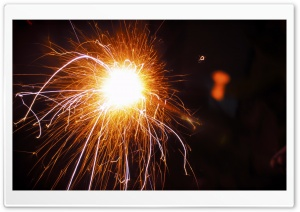 Firework HD Wide Wallpaper for Widescreen