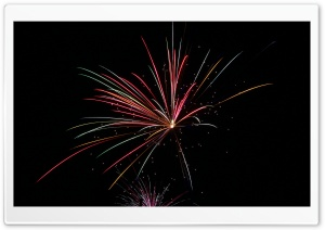 Fireworks HD Wide Wallpaper for 4K UHD Widescreen desktop & smartphone