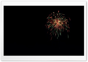 Fireworks HD Wide Wallpaper for Widescreen