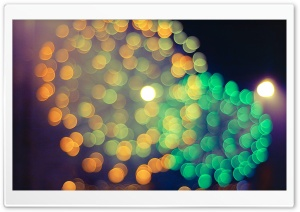 Fireworks Bokeh HD Wide Wallpaper for Widescreen