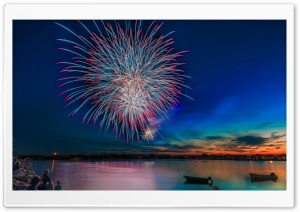 Fireworks Celebrations HD Wide Wallpaper for Widescreen