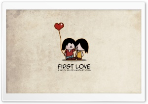 First Love HD Wide Wallpaper for 4K UHD Widescreen desktop & smartphone
