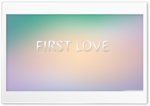 First Love HD Wide Wallpaper for Widescreen