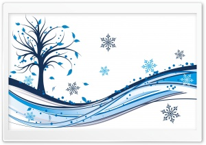 First Snow HD Wide Wallpaper for Widescreen