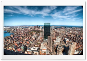 Fisheye City Photography HD Wide Wallpaper for Widescreen