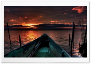 Fishing Boat HD Wide Wallpaper for Widescreen