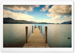 Fishing Pier HD Wide Wallpaper for Widescreen