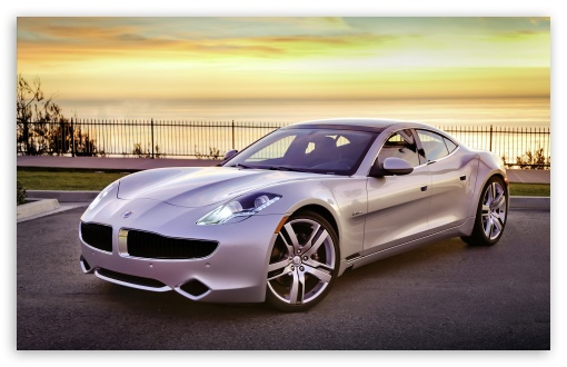 Download Fisker Karma UltraHD Wallpaper