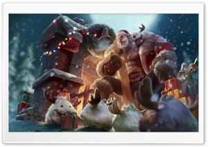 Fit Buff Santa LOL Ultra HD Wallpaper for 4K UHD Widescreen desktop, tablet & smartphone