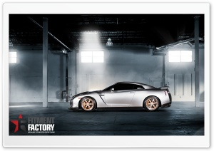 Fitment Factory Nissan GT-R 2 HD Wide Wallpaper for Widescreen