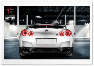 Fitment Factory Nissan GT-R 3 HD Wide Wallpaper for 4K UHD Widescreen desktop & smartphone