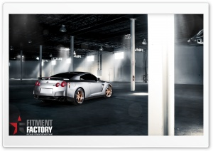 Fitment Factory Nissan GT-R HD Wide Wallpaper for 4K UHD Widescreen desktop & smartphone