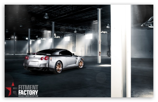 Fitment Factory Nissan GT-R HD wallpaper for Wide 16:10 5:3 Widescreen WHXGA WQXGA WUXGA WXGA WGA ; HD 16:9 High Definition WQHD QWXGA 1080p 900p 720p QHD nHD ; UHD 16:9 WQHD QWXGA 1080p 900p 720p QHD nHD ; Standard 4:3 5:4 3:2 Fullscreen UXGA XGA SVGA QSXGA SXGA DVGA HVGA HQVGA devices ( Apple PowerBook G4 iPhone 4 3G 3GS iPod Touch ) ; Tablet 1:1 ; iPad 1/2/Mini ; Mobile 4:3 5:3 3:2 16:9 5:4 - UXGA XGA SVGA WGA DVGA HVGA HQVGA devices ( Apple PowerBook G4 iPhone 4 3G 3GS iPod Touch ) WQHD QWXGA 1080p 900p 720p QHD nHD QSXGA SXGA ;