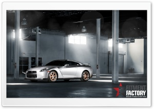 Fitment Factory Nissan GT-R HD Wide Wallpaper for Widescreen