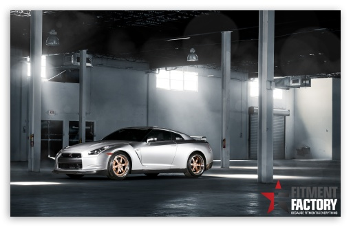 Fitment Factory Nissan GT-R HD wallpaper for Wide 16:10 5:3 Widescreen WHXGA WQXGA WUXGA WXGA WGA ; HD 16:9 High Definition WQHD QWXGA 1080p 900p 720p QHD nHD ; UHD 16:9 WQHD QWXGA 1080p 900p 720p QHD nHD ; Standard 3:2 Fullscreen DVGA HVGA HQVGA devices ( Apple PowerBook G4 iPhone 4 3G 3GS iPod Touch ) ; Mobile 5:3 3:2 16:9 - WGA DVGA HVGA HQVGA devices ( Apple PowerBook G4 iPhone 4 3G 3GS iPod Touch ) WQHD QWXGA 1080p 900p 720p QHD nHD ;