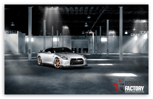 Fitment Factory Nissan GT-R HD wallpaper for Wide 16:10 5:3 Widescreen WHXGA WQXGA WUXGA WXGA WGA ; HD 16:9 High Definition WQHD QWXGA 1080p 900p 720p QHD nHD ; UHD 16:9 WQHD QWXGA 1080p 900p 720p QHD nHD ; Standard 4:3 5:4 3:2 Fullscreen UXGA XGA SVGA QSXGA SXGA DVGA HVGA HQVGA devices ( Apple PowerBook G4 iPhone 4 3G 3GS iPod Touch ) ; iPad 1/2/Mini ; Mobile 4:3 5:3 3:2 16:9 5:4 - UXGA XGA SVGA WGA DVGA HVGA HQVGA devices ( Apple PowerBook G4 iPhone 4 3G 3GS iPod Touch ) WQHD QWXGA 1080p 900p 720p QHD nHD QSXGA SXGA ; Dual 5:4 QSXGA SXGA ;