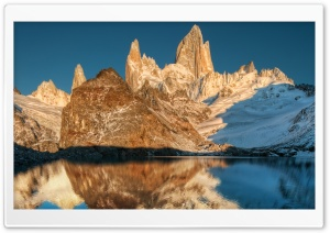 Fitz Roy At Sunrise HD Wide Wallpaper for 4K UHD Widescreen desktop & smartphone