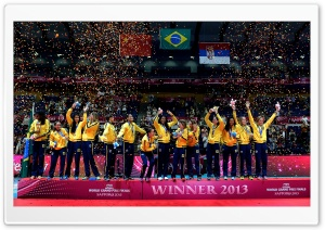 FIVB Volleyball World Grand Prix 2013 HD Wide Wallpaper for Widescreen