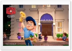 Fix-It Felix, Jr Disney HD Wide Wallpaper for Widescreen