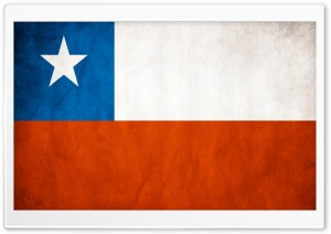 Flag Chile HD Wide Wallpaper for 4K UHD Widescreen desktop & smartphone