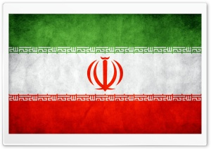 Flag Of Iran HD Wide Wallpaper for Widescreen