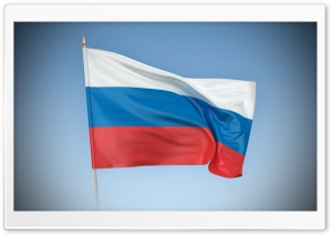 Flag Of Russia HD Wide Wallpaper for Widescreen