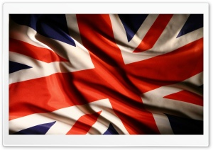 Flag Of The United Kingdom HD Wide Wallpaper for Widescreen