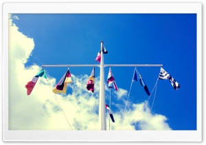 Flags HD Wide Wallpaper for Widescreen