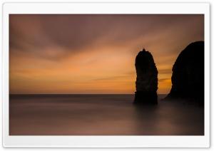 Flamborough Head Stack Sunrise Ultra HD Wallpaper for 4K UHD Widescreen desktop, tablet & smartphone