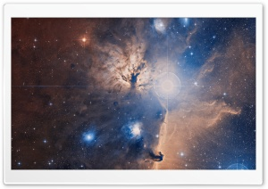 Flame Nebula Ultra HD Wallpaper for 4K UHD Widescreen desktop, tablet & smartphone