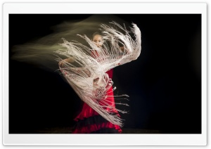 Flamenco Dance HD Wide Wallpaper for Widescreen
