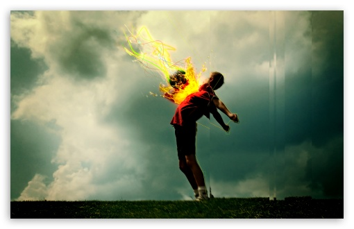 Flaming Football HD wallpaper for Wide 16:10 5:3 Widescreen WHXGA WQXGA WUXGA WXGA WGA ; HD 16:9 High Definition WQHD QWXGA 1080p 900p 720p QHD nHD ; Standard 4:3 5:4 3:2 Fullscreen UXGA XGA SVGA QSXGA SXGA DVGA HVGA HQVGA devices ( Apple PowerBook G4 iPhone 4 3G 3GS iPod Touch ) ; Tablet 1:1 ; iPad 1/2/Mini ; Mobile 4:3 5:3 3:2 16:9 5:4 - UXGA XGA SVGA WGA DVGA HVGA HQVGA devices ( Apple PowerBook G4 iPhone 4 3G 3GS iPod Touch ) WQHD QWXGA 1080p 900p 720p QHD nHD QSXGA SXGA ;