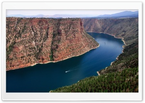 Flaming Gorge Reservoir HD Wide Wallpaper for 4K UHD Widescreen desktop & smartphone