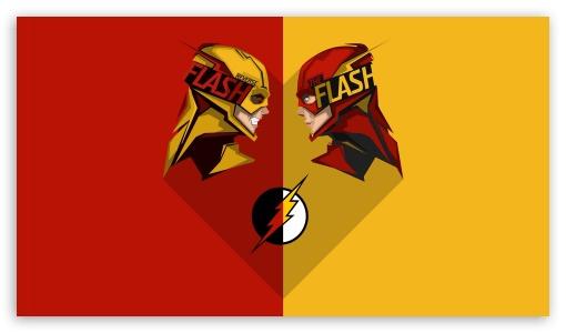 Flash Vs Reverse-Flash 4K HD Desktop Wallpaper For 4K